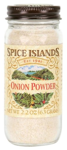 Spice Islands Onion Powder, 2.2-Ounce (Pack of 3)
