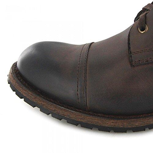 FB Fashion Boots Sendra Boots Bernie 11934 Oiled Marron Schnürstiefel Für Herren Braun Urban Boot Marron