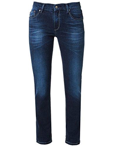 353 Sally Pioneer Straigh Blu Buffies Used Da Donna blue With Leg Jeans Dark O7Srdqw7