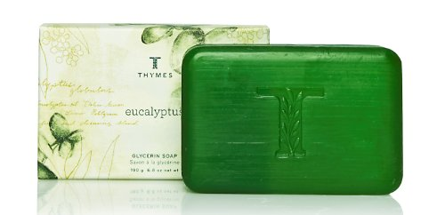 Eucalyptus Bar (Thymes Glycerine Bar Soap, Eucalyptus, 6.8-Ounce)