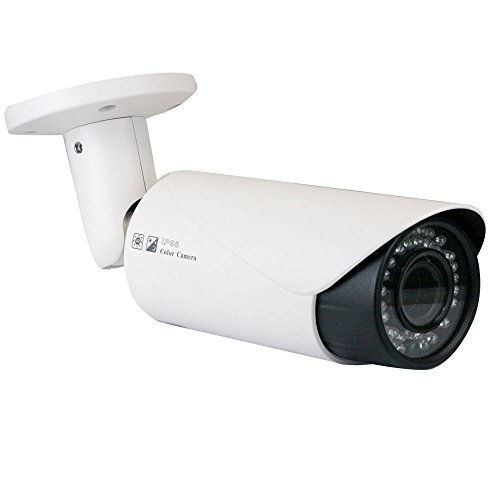 GW Security 2.1 Megapixel HD 1080P AHD Weatherproof Bullet Security Camera with 2.8-12mm Varifocal Zoom Len (Only Compatible with HD-AHD DVR)