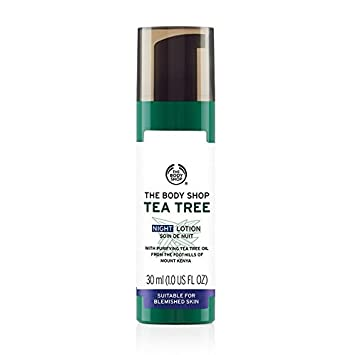 3c83f9f4a Amazon.com  The Body Shop Tea Tree Night Lotion