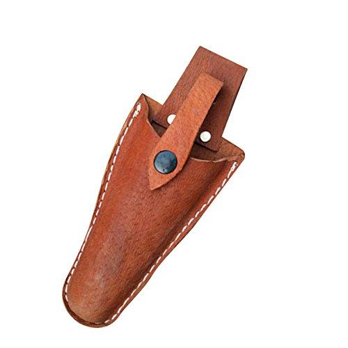 Frjjthchy Leather Sheath Tool Holsters whith Belt Gardening Pruner Plier Tool Holder ()