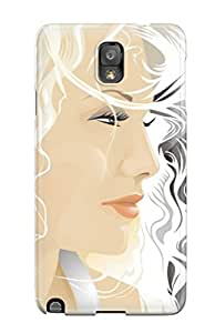 Galaxy Note 3 Case Slim [ultra Fit] Blond Vector Protective Case Cover