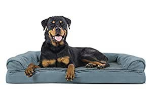 FurHaven Ultra Plush/Velvet Orthopedic Dog Couch Sofa Bed for Dogs and Cats - Available in 7 Colors/Styles