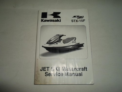 2004 2009 Kawasaki STX-15F Jet Ski Watercraft Service Manual WATER DAMAGED