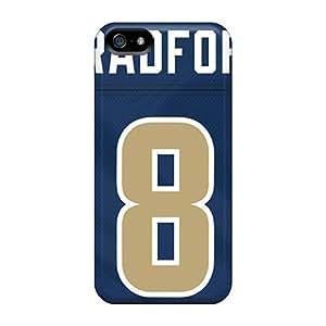 JasonPelletier Iphone 5/5s Scratch Protection Mobile Cases Custom Vivid St. Louis Rams Image [scX1741MEIQ]