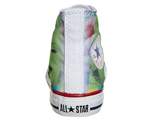 Scarpe Converse All Star personalizzate (scarpe artigianali) Viso Marylin