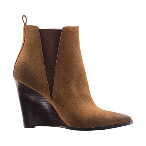 Suede Linea Womens Cognac Paolo Boot Sport Bootie Toe Pointy Lexi Oiled vr4wqaxv
