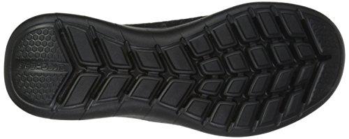 Skechers Heren Quantum Flex Sneaker Zwart