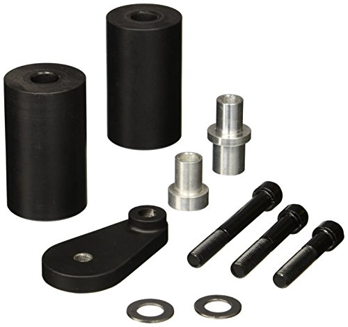 Krator 2003-2009 Yamaha YZF R6 R6S No Cut Black Frame Sliders Crash Protectors Motorcycle - Yamaha R6 2006