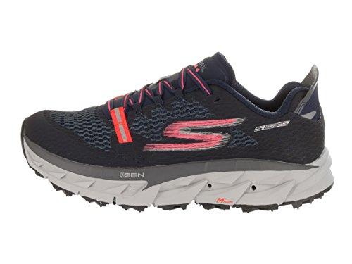 Skechers Go Trail Ultra 4Formación de la mujer zapatos Azul Marino/Coral