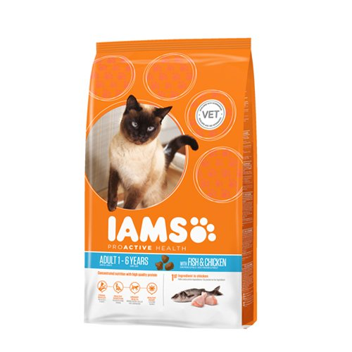 IAMS - Peces para adulto, gato salvaje, 1,5 kg: Amazon.es ...