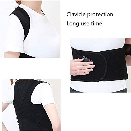 WYNZYHY Protection Belt, Humpback Correction with Scoliosis Correction Clothing Invisible Straight Backsuit Adult Children Students Men and Women Belt (Size : L) by WYNZYHY (Image #3)