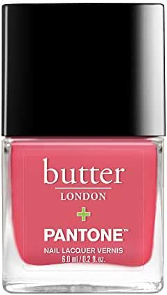 butter LONDON Pantone Color of the Year Lacquer, Calypso Coral, 0.2 fl. oz.