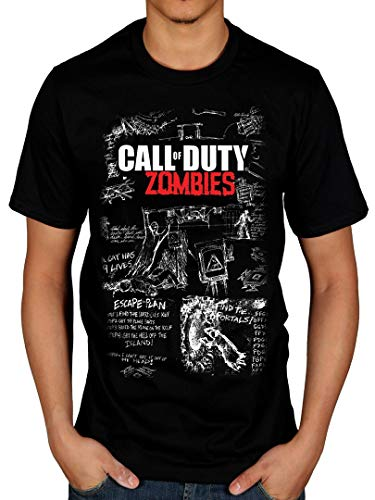 Official Call of Duty Black Ops 3 Mob of The Dead T-Shirt (Call Of Duty Ghosts Multiplayer Weapons List)