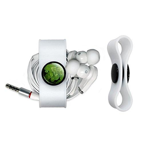 Clover Headphone Earbud Cord Wrap