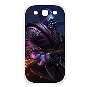 Jax-001 League of Legends LoL For Case Samsung Galaxy S4 I9500 Cover Plastic White