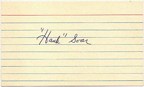 3 x 5 Soar, Hank (lined) 9.5