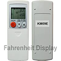 Replacement for Mitsubishi Electric Mr Slim E12E79426 Remote Control KM09E (Display in Fahrenheit Only!!!)