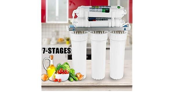 HWTP Purificador de Agua, Filtro UF de 7 etapas, Sistema de ...