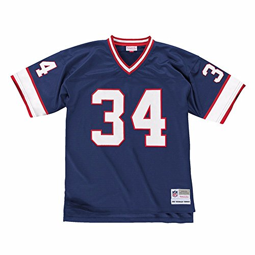 Mitchell & Ness Buffalo Bills NFL Blue 1990 Throwback Retired Player Legacy Home Jersey Jersey For Men (5XL)