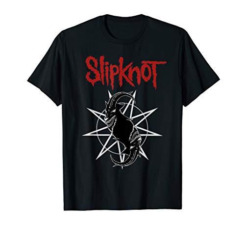 (Slipknot Goat Star Logo T-Shirt)