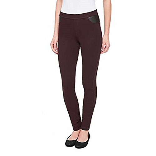 DKNY Womens Ponte Pants (Large) (Dkny Womens Pants)