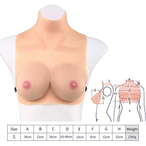 Artificiel Cup Poitrine Mastectomie Sein Silicone gorge Mens Soutien Transgenres Enhancer Pour Mammaires Xhh Crossdresser Du Seins C Formes Femme La px75qPw6n0