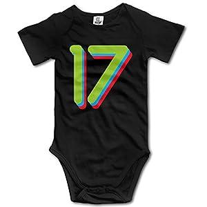 Summer 17 Designed Art 0-3 Months Baby Onesie Cotton Newborn Infant Short Sleeve Outfits