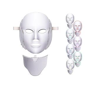 7 Colors Led Light Photon Neon-glowing Facial Light Skin Rejuvenation Led Face Mask Care Treatment Beauty