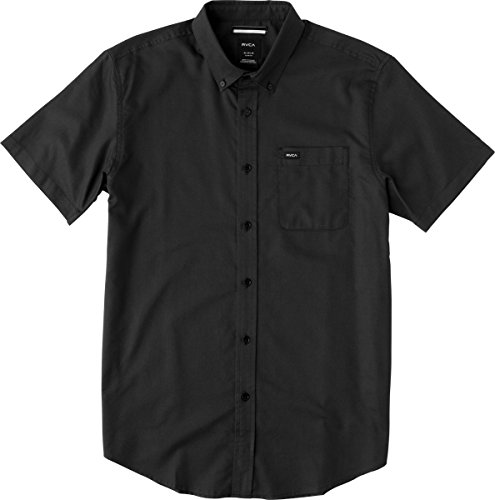 rvca-mens-thatll-do-oxford-short-sleeve-woven-shirt-pirate-black-x-large