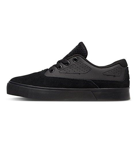 Dc Shoes Sultan Low Shoes, Color: Black/Black/Black, Size: 31 Eu (13.5 Us / 12.5 Child Uk)