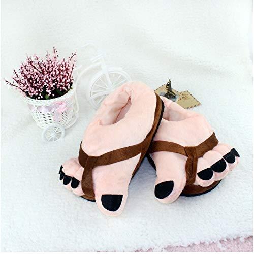 novità pantofole Inverno di piedi Top 42 36 Natale decompressione 36 calda blu Shishang Giocattoli regalo 42 brown di grandi casa 0X4Y45nxPW