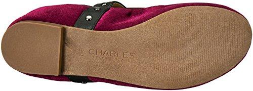 Charles Av Charles David Womens Dekan Ballett Flat Burgunder