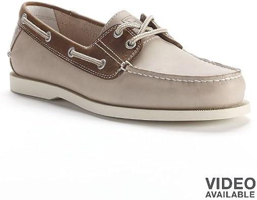 Chaps White Boat Shoes - Men