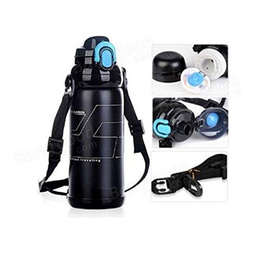 Bazaar Sports circonscription vélo bicyclette boisson bouteille d'eau camping, randonnée bouilloire vide 800ml