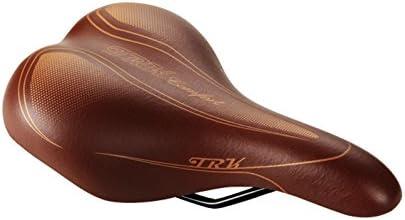 Sillin Retro Clasico Vintage Marron Unisex para Bicicleta Urbana ...