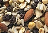 Midwest Northern Nut - RAW Trail Snack & Nut Mix - 10 Lbs / Bulk / Wholesale (Raw: Raisins + Cashews + Almonds + Sunflower & Pumpkin Seeds), BUY in Bulk and SAVE - 10 Pounds (Pack of 1)