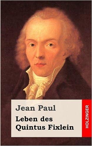 Johann Paul Friedrich Richter Facts
