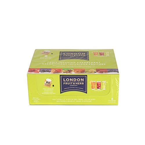 London Fruit and Herb Tea, Variety Pack, 80 Teabags (2g x 80)