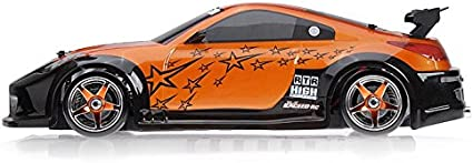 Amazon Com Exceed Rc 1 10 Scale Madspeed Electric Powered Drift Car 350 Style Orange Toys Games