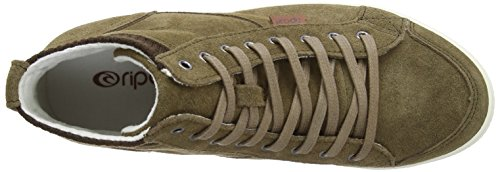 taupe Baskets Femme Pour Curl Rip Marron qABw4O