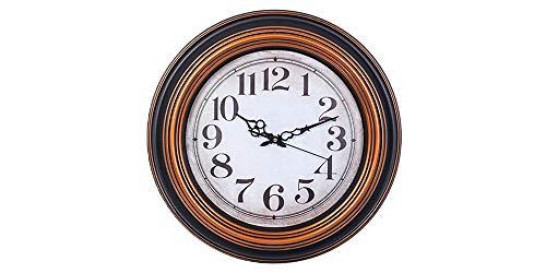 Smartsense 19 Inches Wall Clock Creative Gift Design Decorative Indoor Kitchen Clock, 3D Numbers Display.