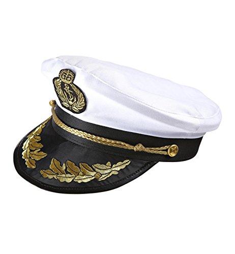 Widmann 0186S - Luxushut Kapitän, weiß