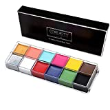 Arts & Crafts : CCBeauty Professional Face Body Paint Oil 12Colors Painting Art Party Fancy Make Up Set,#1