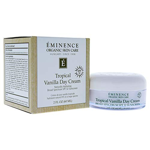Eminence Tropical Vanilla Day Cream SPF 32, 4.2 Ounce (Best All Day Sun Cream)