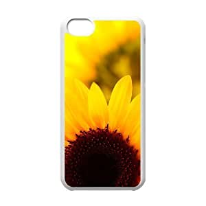 linJUN FENGProtection Cover Hard Case Of Sunflower Cell phone Case For ipod touch 5