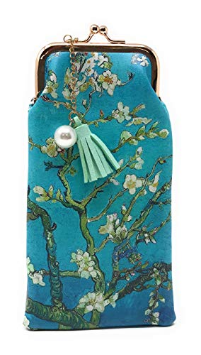 Value Arts Van Gogh's Almond Blossoms Eyeglass Case Pouch, 7 Inches Long ()