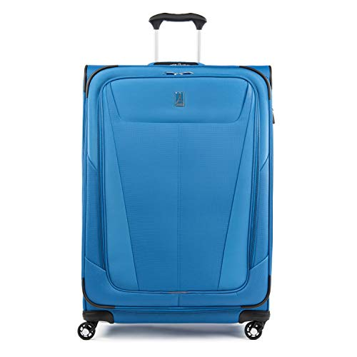 Travelpro Maxlite 5 Expandable Spinner Luggage 29-Inch, Azure Blue, One Size (Model:401176927)